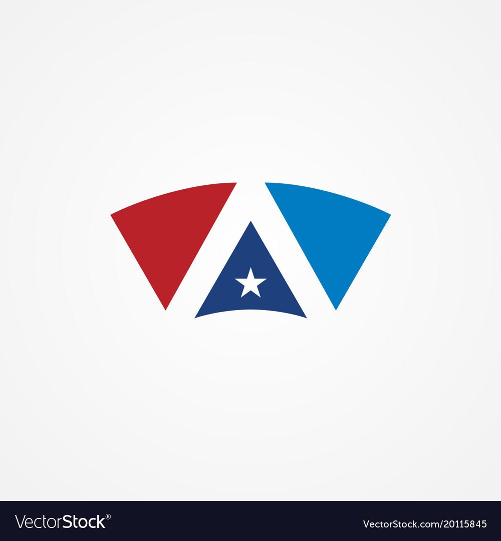 Shape star america logo