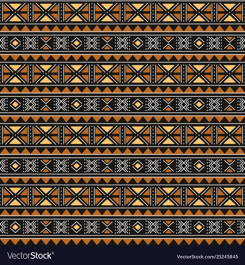 Tribal seamless pattern african fabric