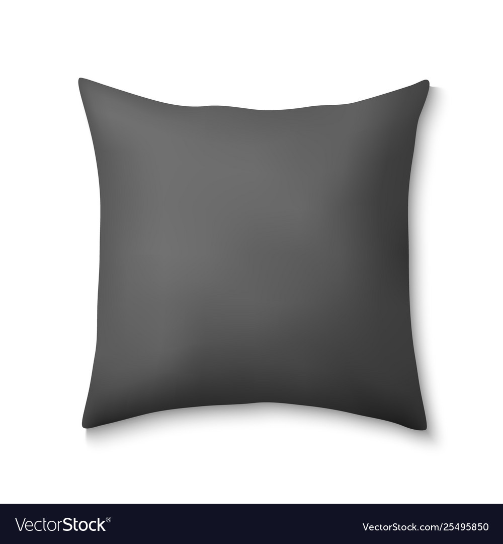 3d realistic square pillows