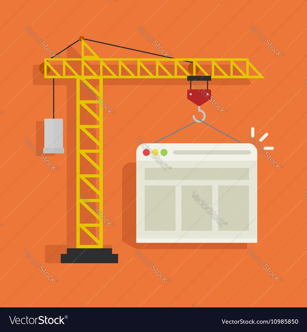 Crane building website