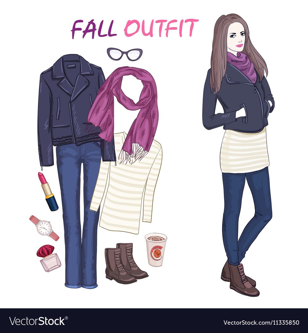 Fashionable Accessories Icon Set