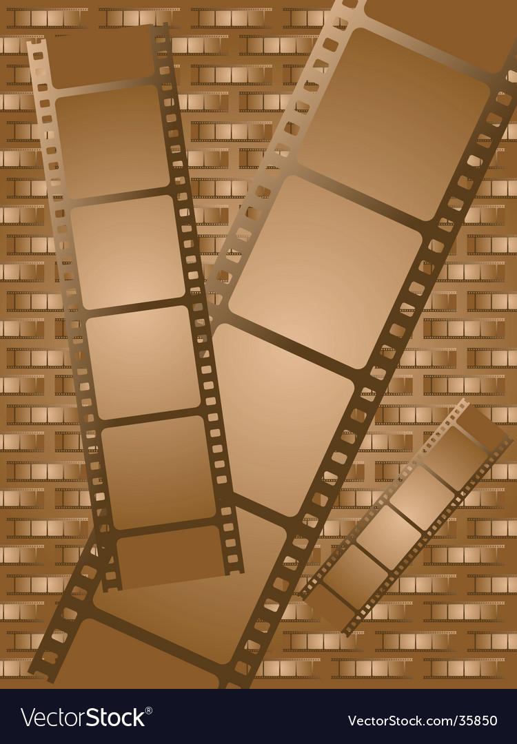 Old brown film