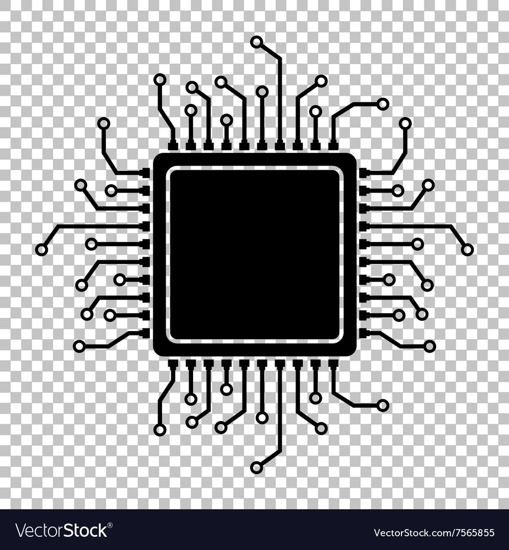 black icon isolated on transparent royalty free vector image vectorstock
