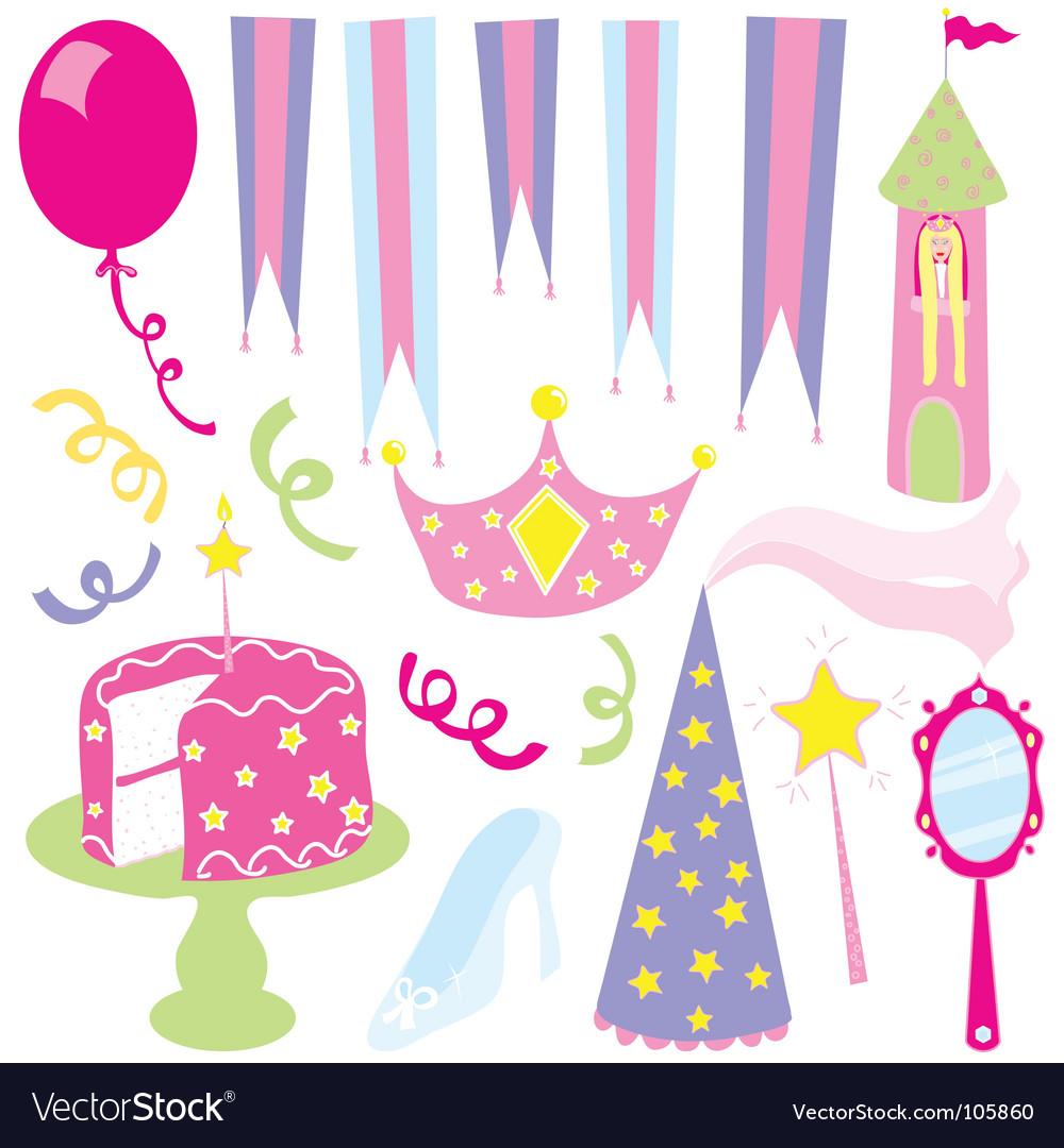 Girls princess party