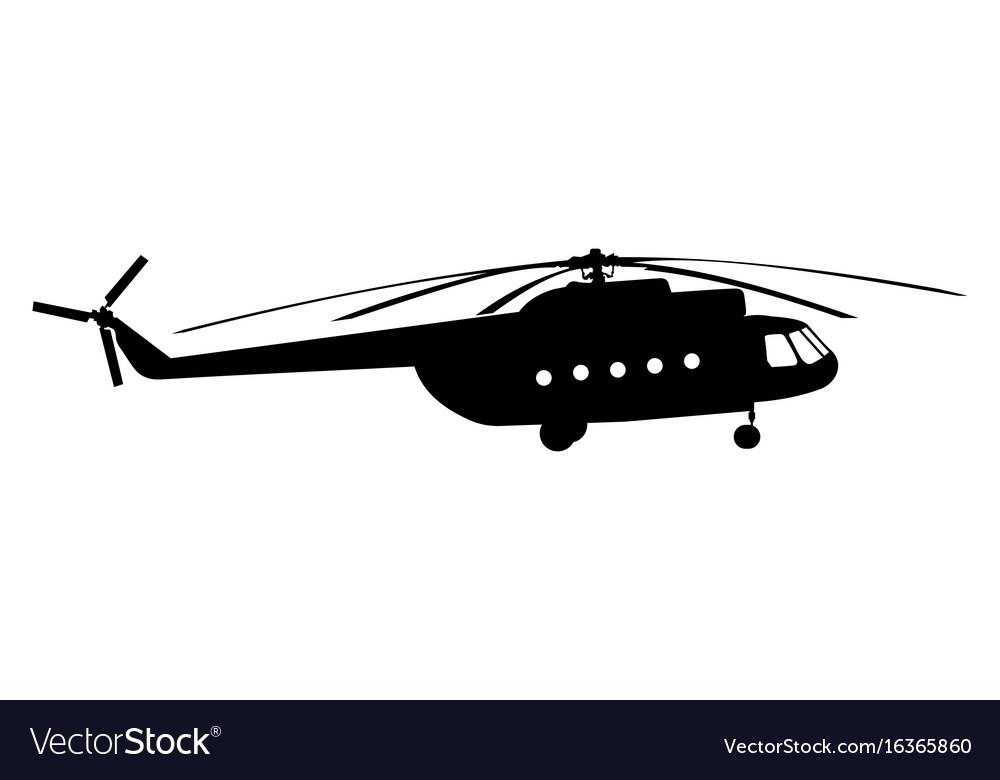 Silhouette a chopper