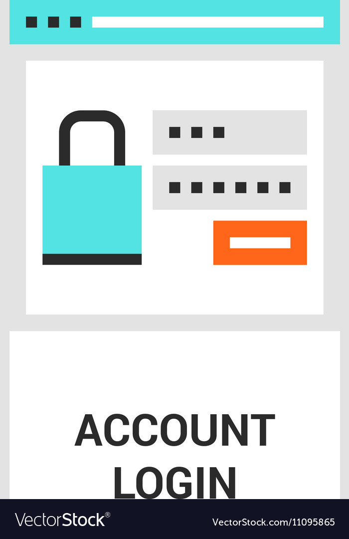 Account login icon