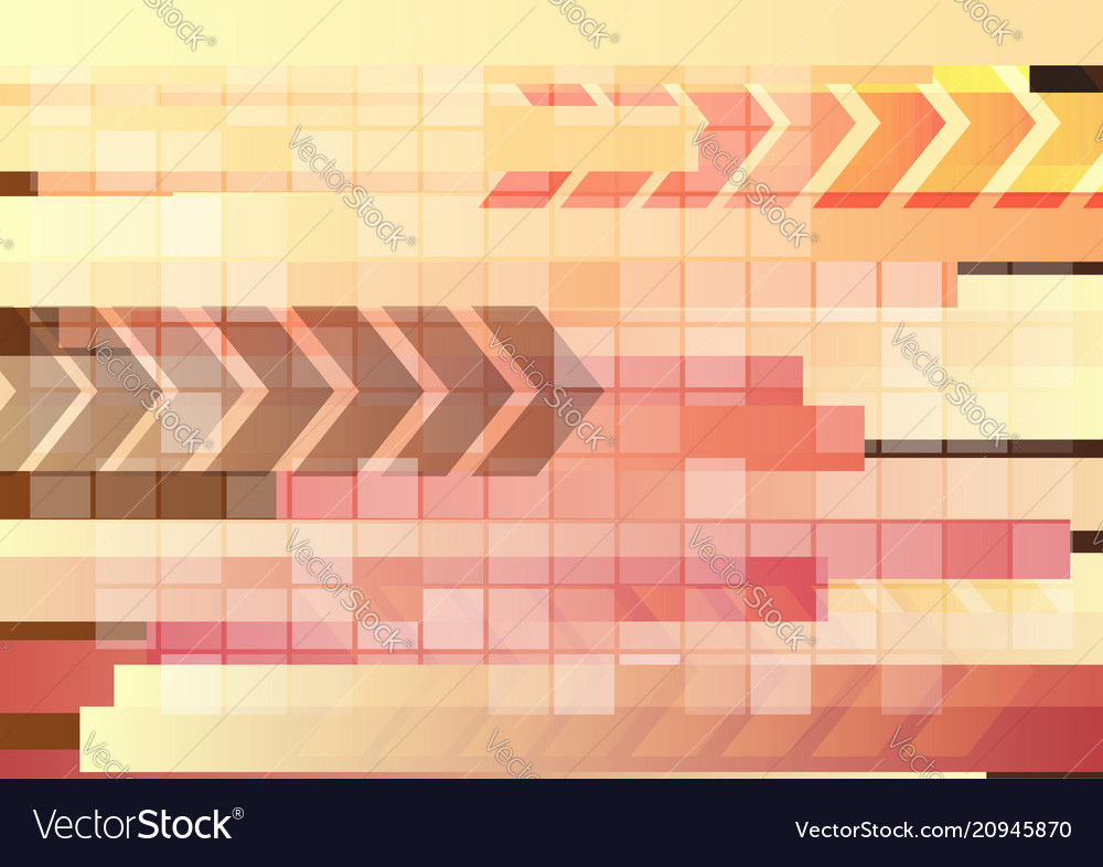 Abstract digital light background with arrows