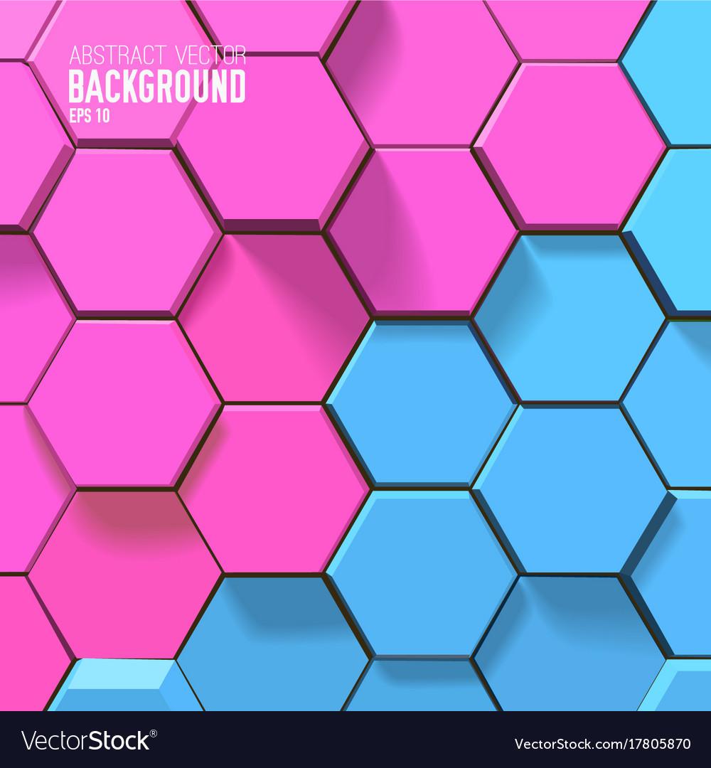 Sceince geometric background