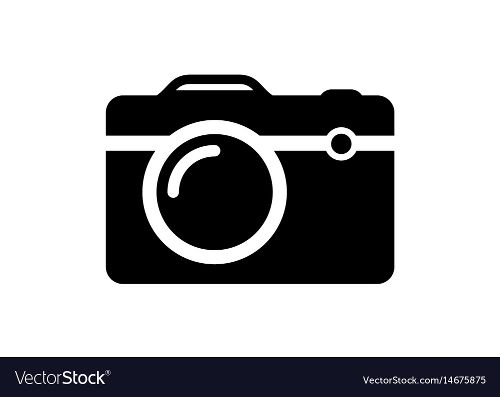 camera royalty free vector image vectorstock rh vectorstock com vector camera shutter vector camera dslr
