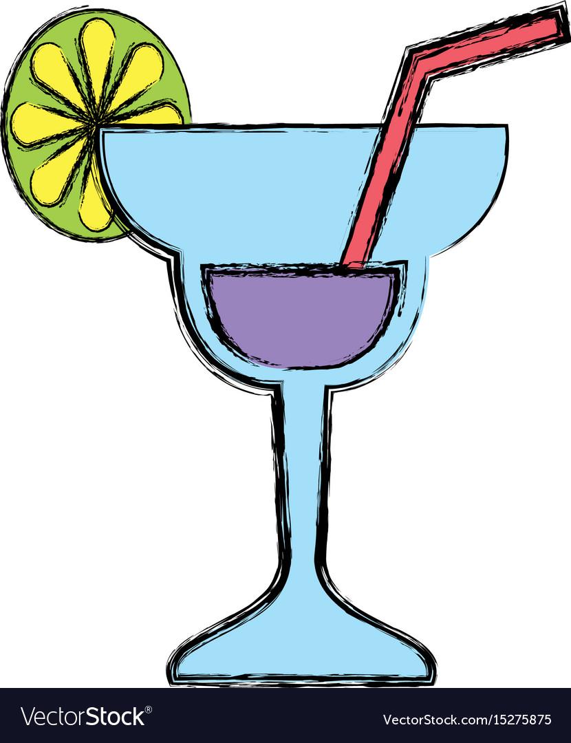 Cocktail glass symbol