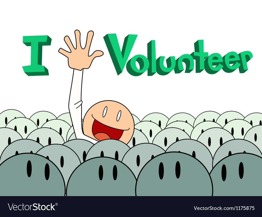 Volunteer Poster Background