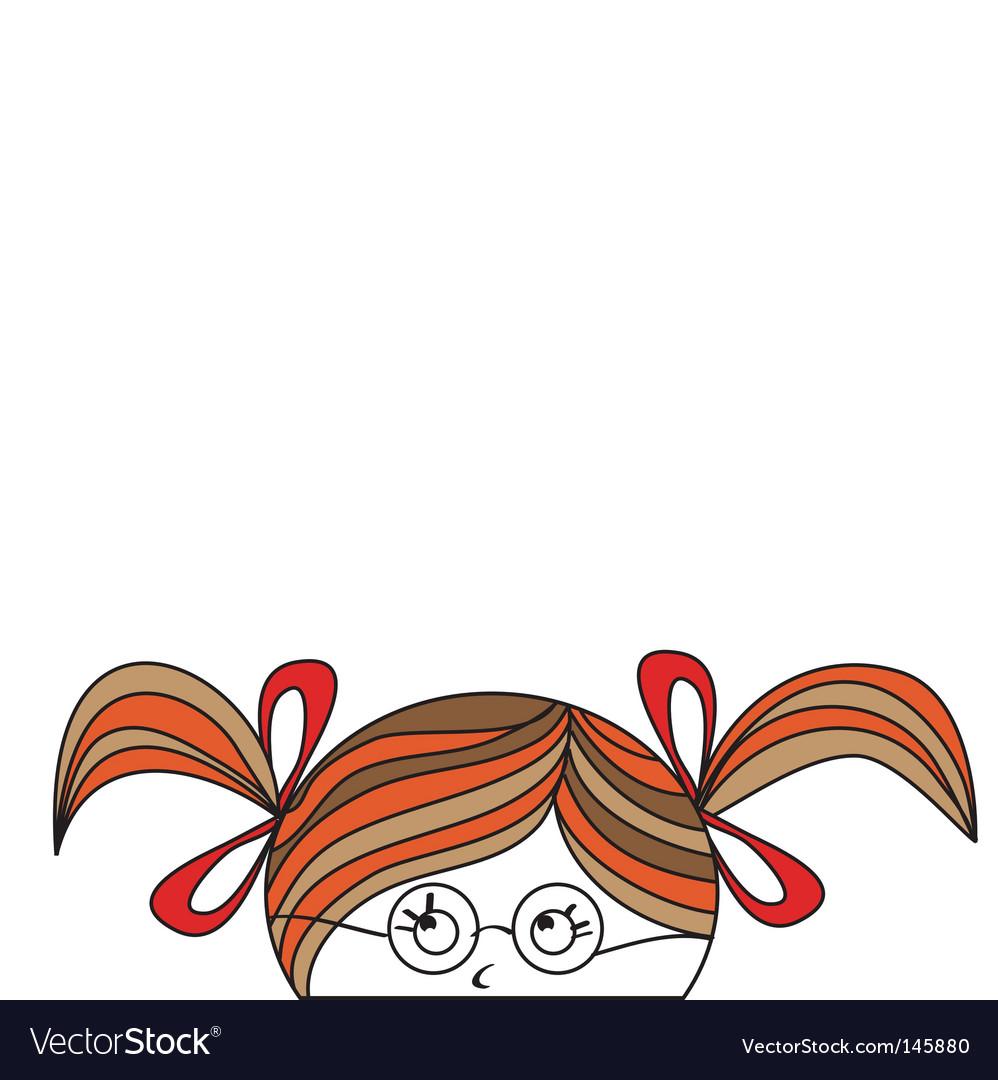Cartoon Girl Vector. Artist: Ateli; File type: Vector EPS; Contains CS file: