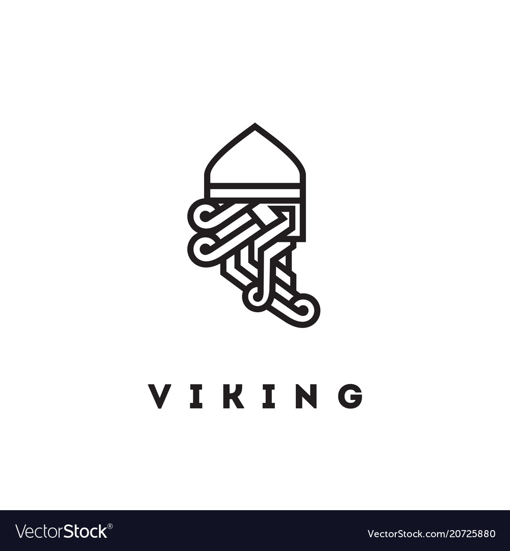 Viking head