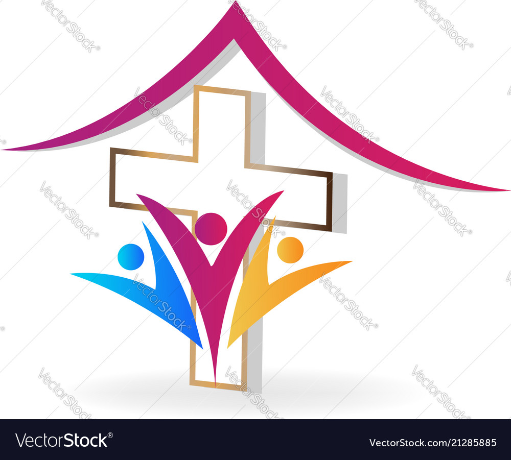 Church family people icon