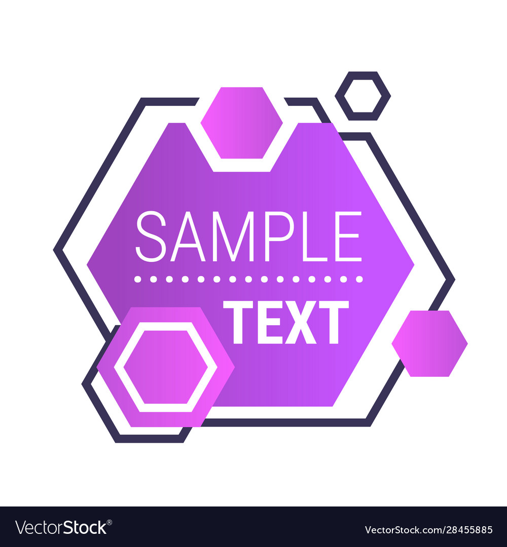 Dynamical purple gradient form abstract banner