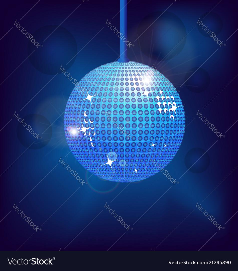 Disco ball dance design