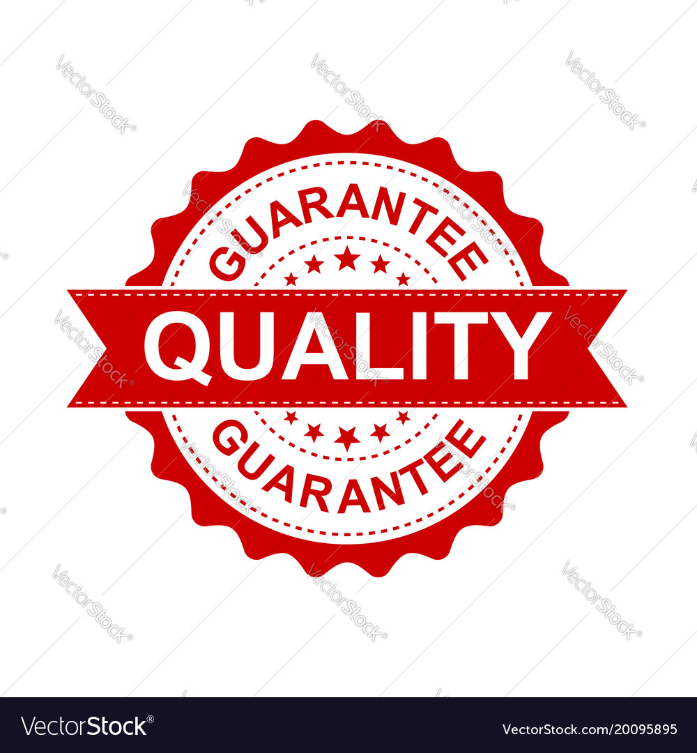 Guarantee grunge rubber stamp on white background