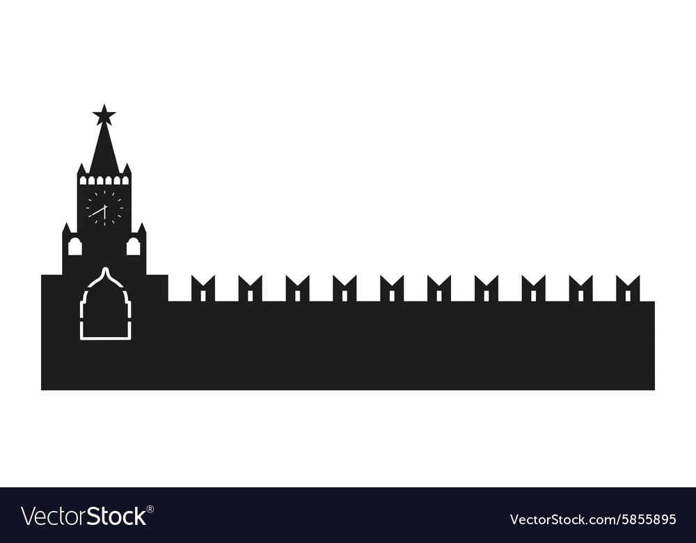 Kremlin silhouette