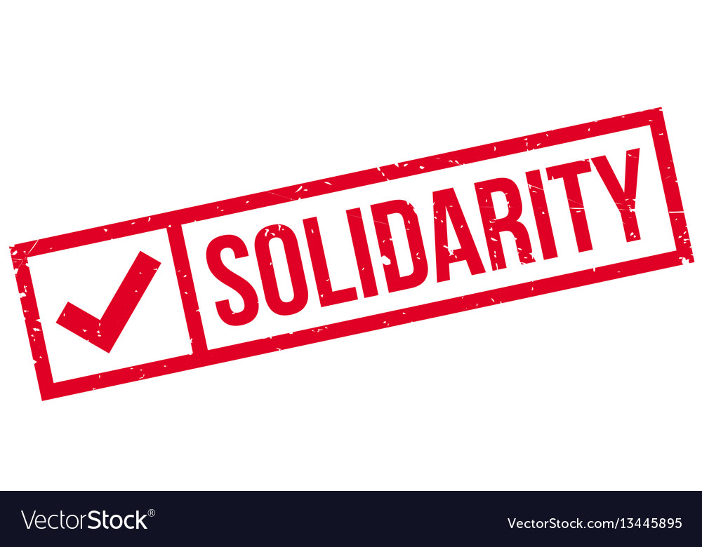 Solidarity rubber stamp