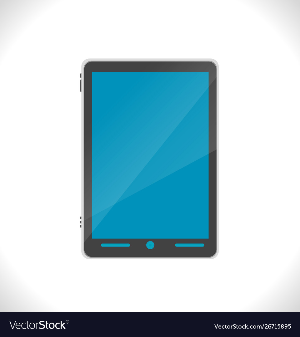 Template pc tablet black