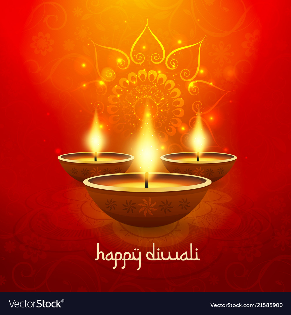 Diwali light candle background happy celebration