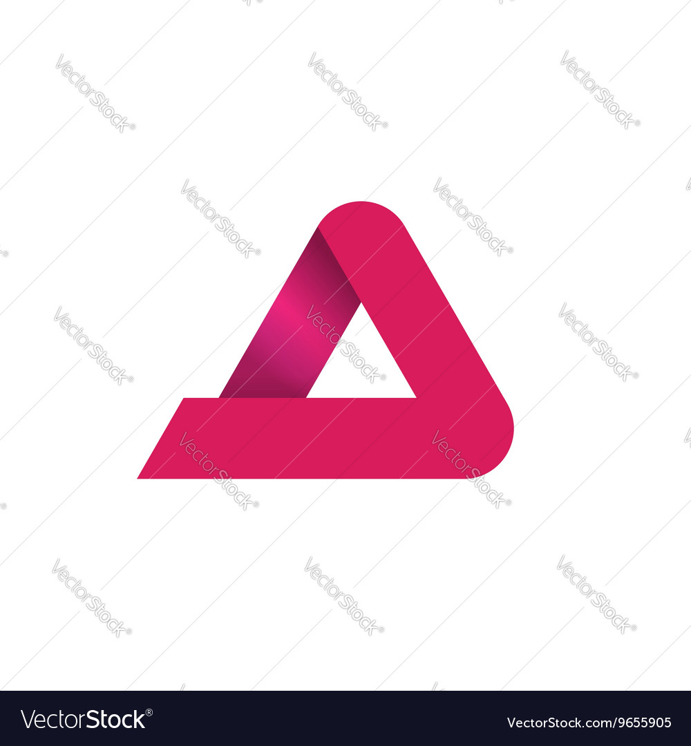 Abstract geometric logo isolated on white