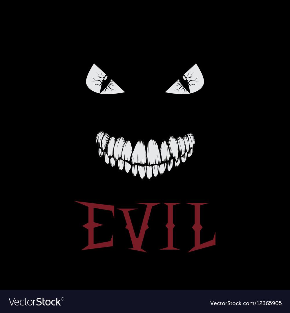 Evil eyes and teeth