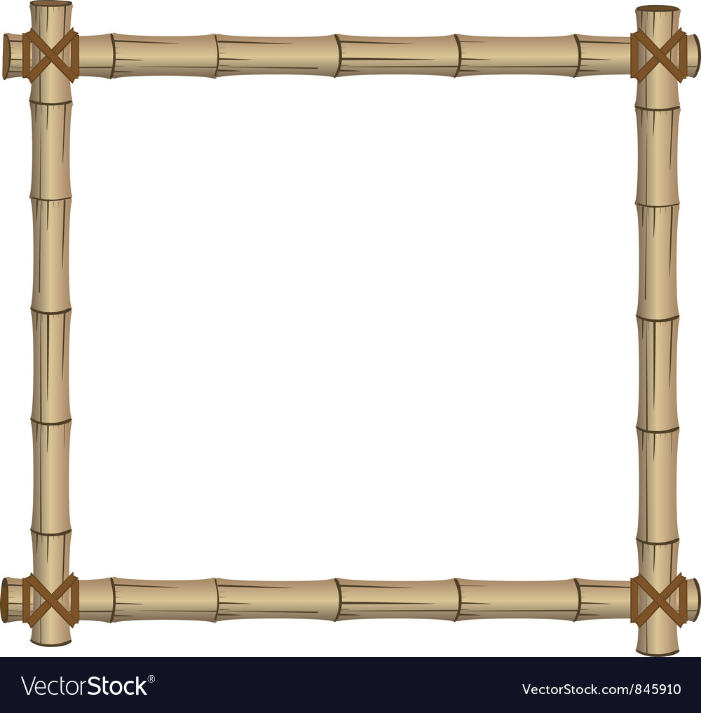 Frame bamboo