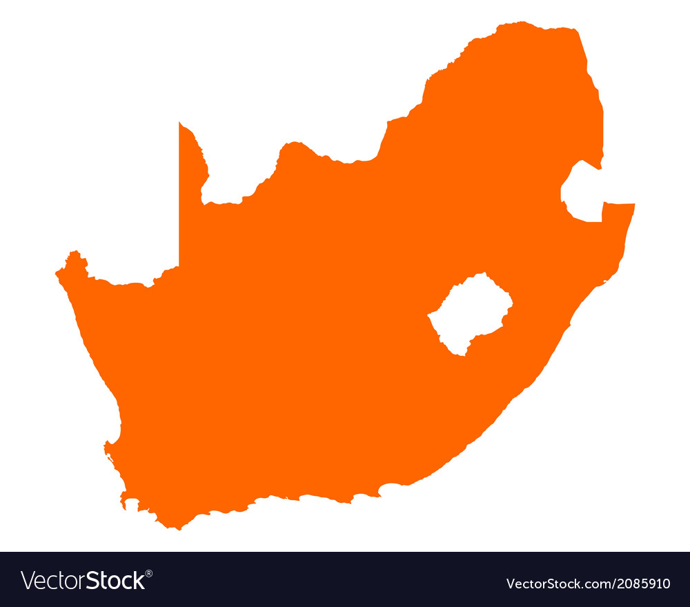 South Africa Map Images.Map Of South Africa Royalty Free Vector Image Vectorstock