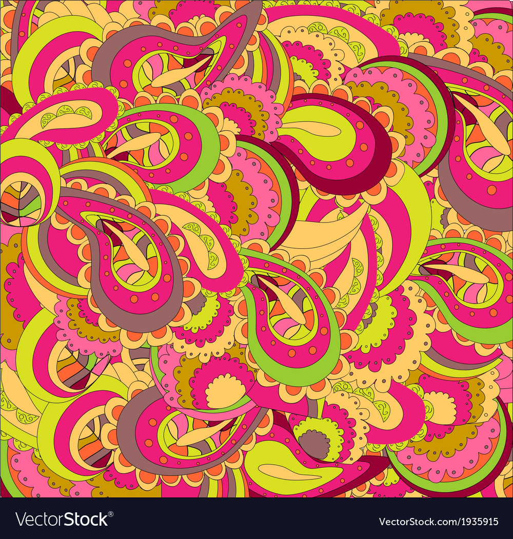 Beautiful bright pattern vector image