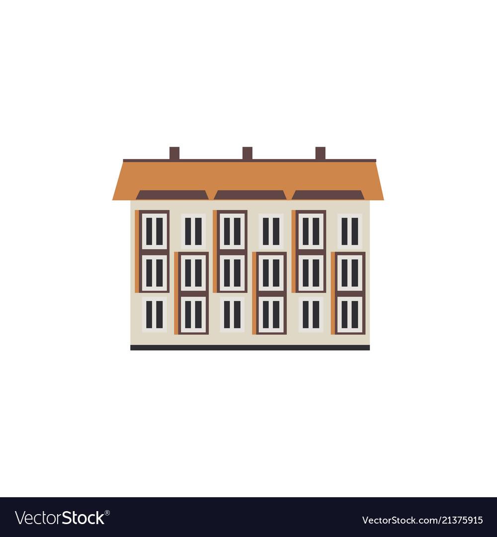 Flat apartment residental building