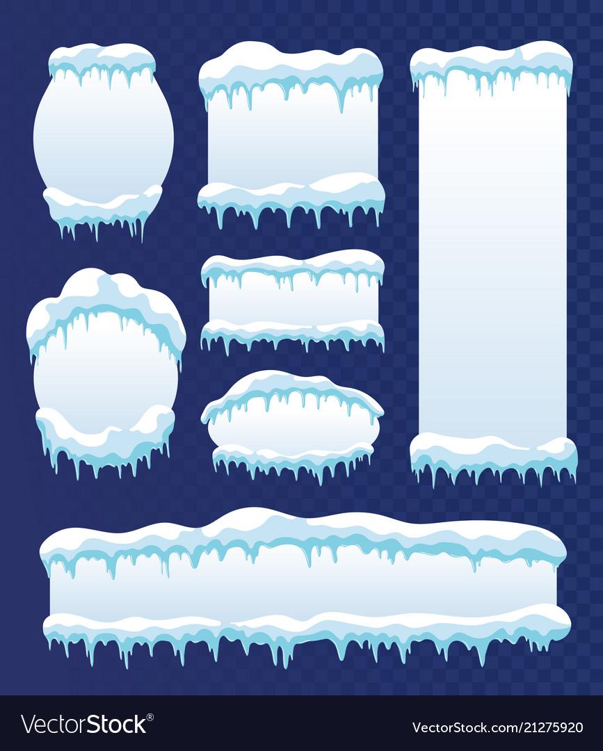 Frozen ice frames