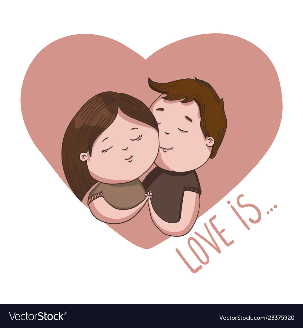 Hand Draw Valentines Day Royalty Free Vector Image