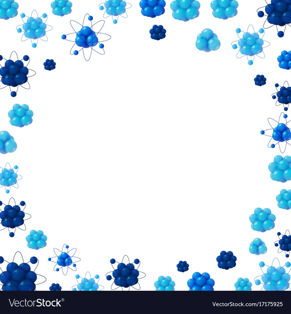 3d abstract scientific background