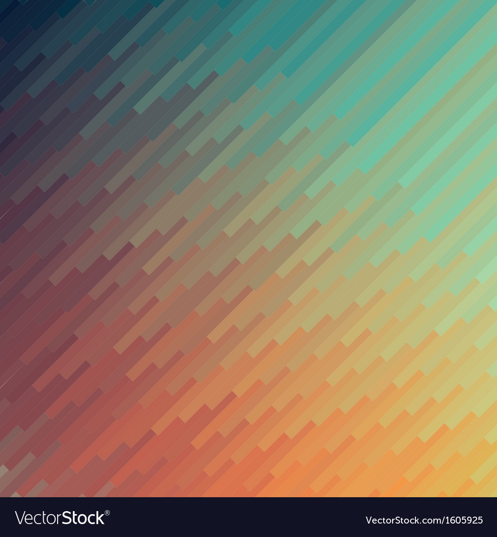 Abstract colorful mosaic banner background