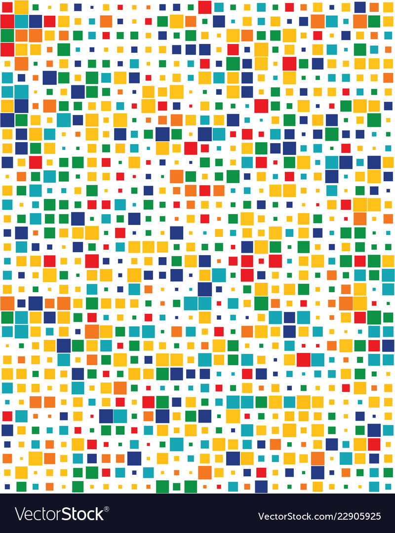 Colorful squares seamless