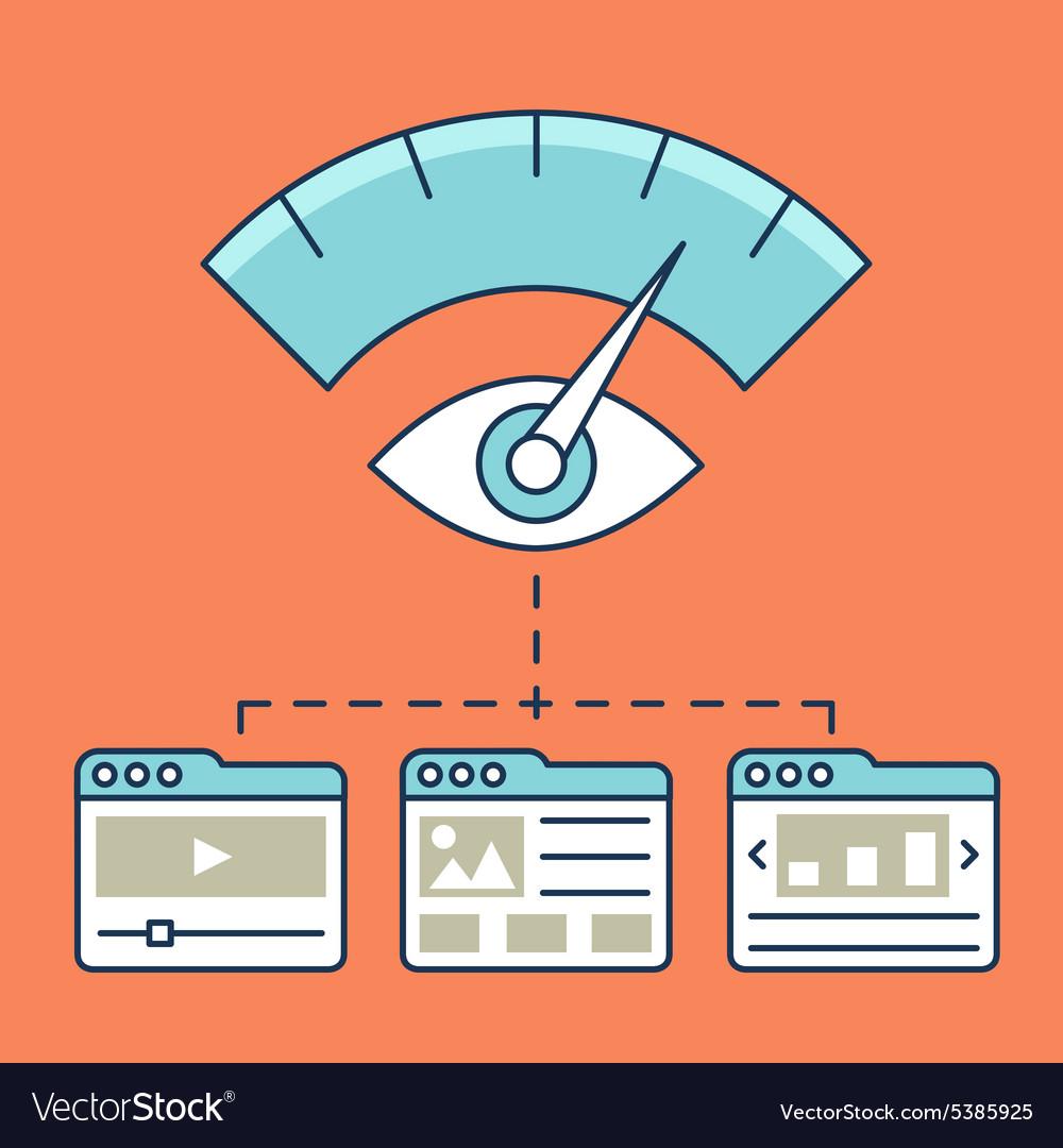 Web analytics information development website
