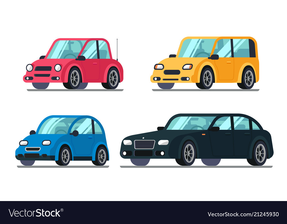 Different flat cars cheap motor car on wheels
