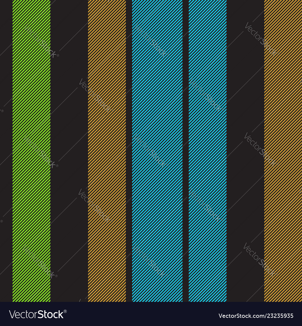 Black striped fabric texture seamless pattern