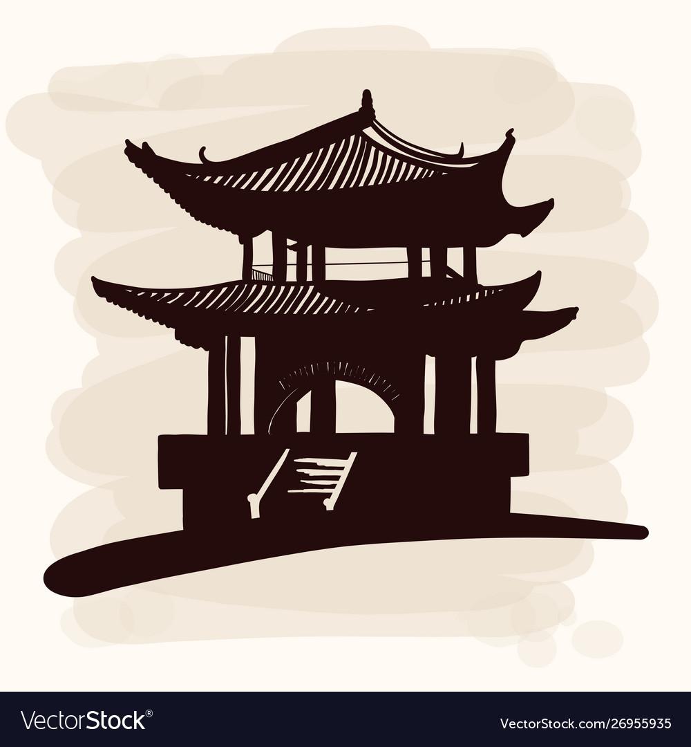 Chinese national pagoda