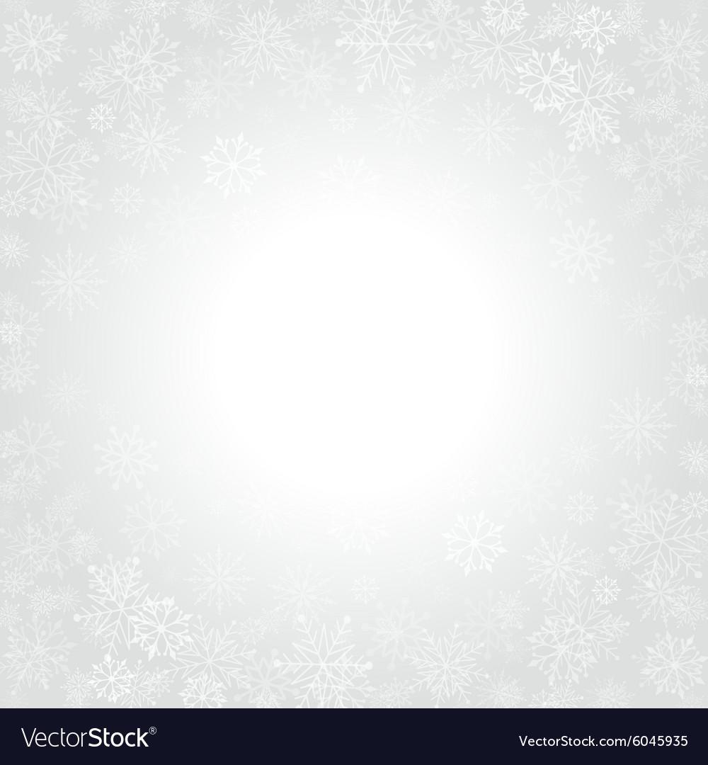 Christmas snowflakes and celebration light