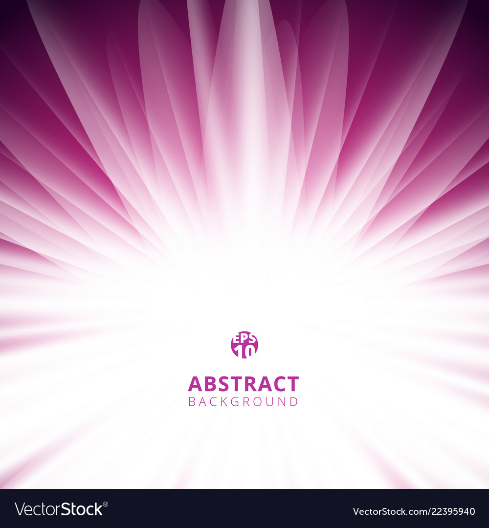 Abstract pink radial lines background with copy