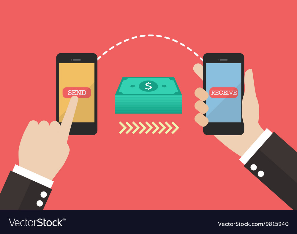 Transfer Money By Smart Phone