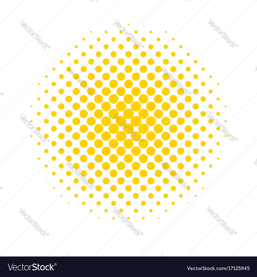 Halftone dots colored abstract background in pop