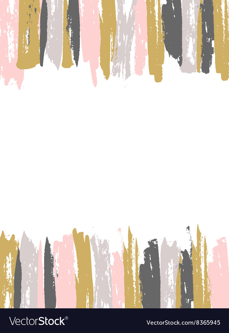Painted Pink and Gold Striped Background template