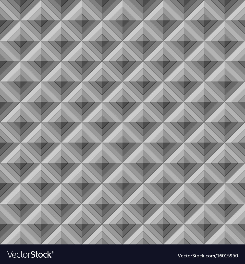 Abstract geometric rhombus seamless pattern vector image
