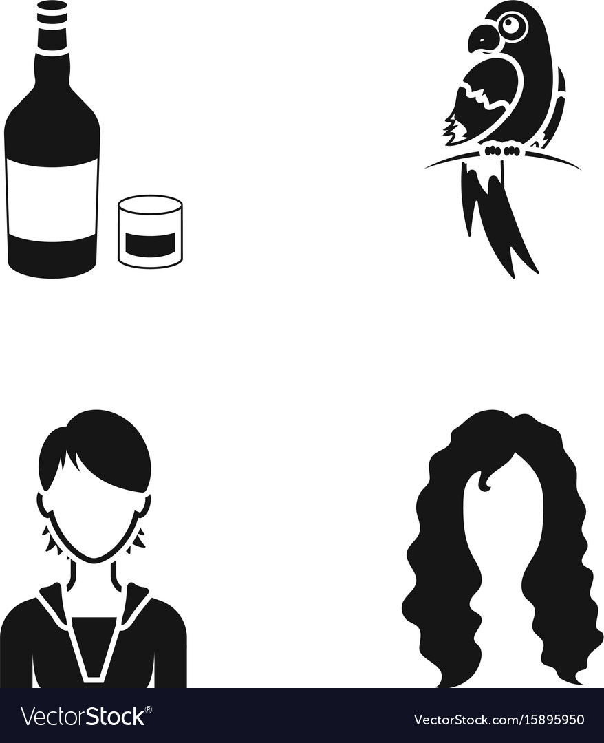 Hairdresser production nature and other web icon