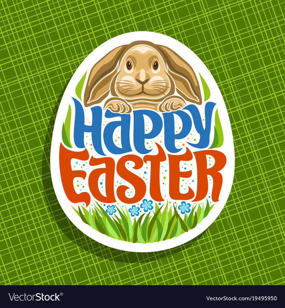 Logo for easter holiday