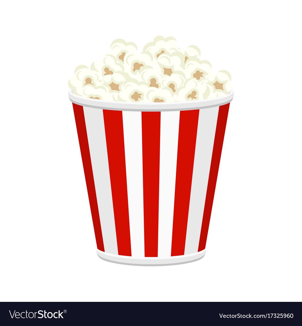 Popcorn bucket full of popcorn items