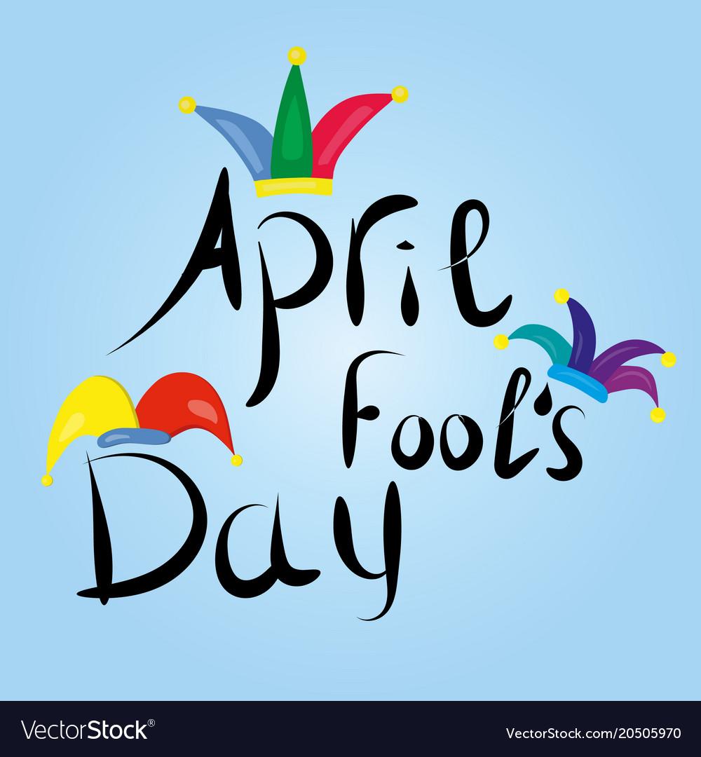 April fools day greeting